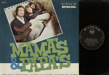 LP MAMA'S & PAPA'S MADE IN ITALY BLACK RCA VICTOR WITH SILER PRINT SIV 3 1966