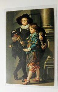 Künstlerkarte, Söhne Rubens, Dresden, Persönlichkeit, Kunst