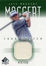 JEFF MAGGERT 2001 Upper Deck SP Authentic Tour Swatch Worn Shirt Relic #D /500