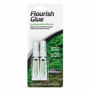 Seachem Flourish Glue Attach Plants & Moss to Rocks & Wood Fish Tank Aquarium