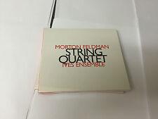 Morton Feldman - String Quartet 2008 CD 752156016724