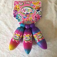 1 *BANANAS* Bunch 2 15 Hidden Surprises 21 Gemstone Stickers NEW Mini Figure Pet