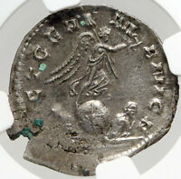 GALLIENUS Victory Over GERMANY Authentic Ancient 257AD Roman Coin NGC i82965