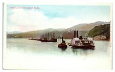 Towing on the Hudson River, NY Postcard *305
