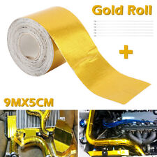 30ft Roll Self Adhesive Reflective Gold High Temperature Heat Shield Wrap Tape