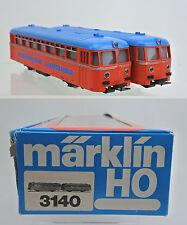 """MARKLIN HO SCALE 3140 """"STEIERMARKISCHEN LANDESBAHNEN"""" RAIL BUS SET"""