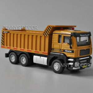 1:50 Diecast Metal Construction Vehicle Model Toy Dump Truck Tipper Replica