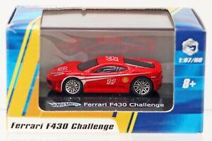 Hot Wheels Ferrari F430 Challenge #P1723 New NRFB 2008 Red 1:87 Scale