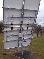 Bauanleitung Solartracker Nachführung PV Tracking Drehanlage Infrarotheizung !
