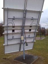 Bauanleitung für Solartracker Nachführung PV Tracking Drehanlage Infrarotheizung