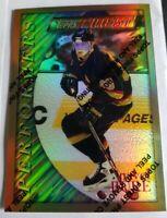 Pavel Bure 1995-96 Topps Finest RARE GOLD REFRACTOR Canucks Mint