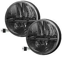 "Truck-Lite 27275C 7"" Round LED Heated Headlight Pair Jeep Wrangler CJ TJ JK"