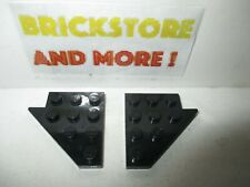 3934 Black//Noir//Schwarz Lego 2x Wedge Aile 4x8 8x4 Left /& Right 3933
