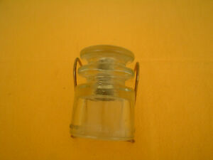 ARMSTRONG T.S. CIRCLE A 28 55 GLASS INSULATOR CLEAR