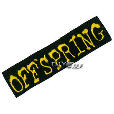 THE OFFSPRING Embroidered Iron on Patch Badge Punk Rock Metal