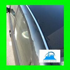 FOR TOYOTA COROLLA 2003-2008 CHROME ROOF TRIM MOLDINGS 2PC 2004 2005 2006 2007