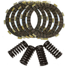 FITS YAMAHA TW200 TRAILWAY 200 1987-2013 CLUTCH FRICTION PLATES & 4 SPRINGS