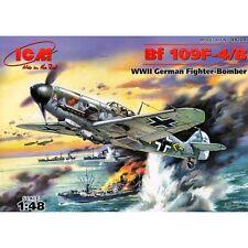 ICM 48104 Messerschmitt Bf109 F4B 1/48 plastic scale model kit