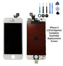 Recambios pantallas LCD de Blanco Para iPhone 5 para teléfonos móviles