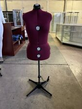 Used Adjustable Sewing Dress Form Female Mannequin Torso Stand #Fh-8X