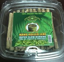 50 x Large OME Natural Leaf Blunt Wraps (L Size) (1 Pack - 50  Wraps) Brand OME