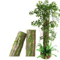 Artificial Fake Bark Tree Moss Landscape Home Patio Simulation Tree Decor Hot
