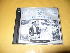 Classic Love Songs Of Rock N Roll Volume One Time Life 2 cd 2004 Ex Condition