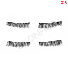 4pcs Magnetic Eyelashes 3d Mink Reusable False Magnet Eye Lashes No Glue 013