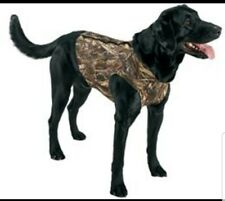 Team Realtree Neoprene Dog Chest Protector Vest Size L Large All Weather Hunting