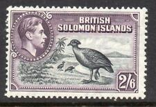Solomon Islands GVI 2s/6d LMM SG 70 Cat. £32