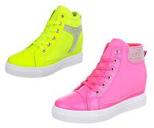 Markenlose Damen-High-Top Sneaker