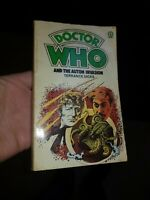 Doctor Who - Auton Invasion - By Terrance Dicks 1974 Paperback Target Book