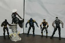 Marvel Legends X-Men X3 Colossus, Storm, Beast, Ultimate Wolverine and Black Pan