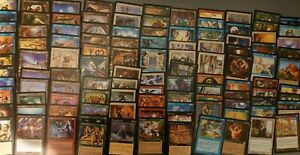 MTG 120 old vintage cards, all different from 6 sets as pics Inc mirage,visions