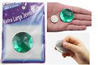 43mm Large Self Adhesive Round Jewels Rhinestone Sticker Acrylic Gems - 2 Pieces