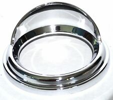 gauge cover speed or tach classic chrome for older Peterbilt Freightliner each