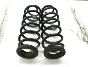 2010-2012 LINCOLN MKZ OEM REAR SUSPENSION COIL SPRINGS SET OF 2