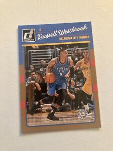 Russell Westbrook 2016/17 Nba Panini Donruss OKC #145 Washington Wizards