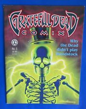 1992 GRATEFUL DEAD COMIX #5 VF+ Kitchen Sink - Dean Armstrong Jerry Garcia