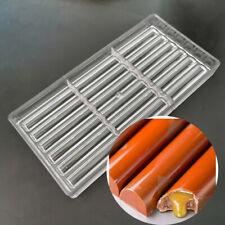 18 cavities long sticks shape polycarbonate PC chocolate candy fondant ice mold