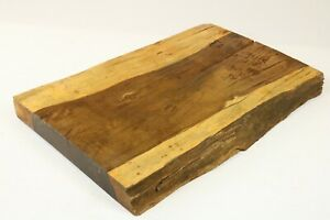 Ironwood Exotic Epoxy Natural Live Edge Wood Slab Lumber Side Table 1.9x14x22