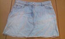light blue miniskirt