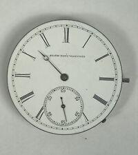 16s  Elgin Grade 50 15 Jewel Convertible Pocket Watch Movement