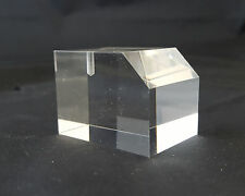 Basetta  espositore in plexiglass per orologi trasparente - Lotto da pz. 20