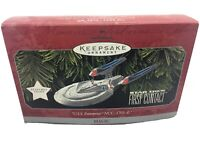 Hallmark Keepsake Ornament 98 STAR TREK First Contact USS ENTERPRISE NCC-1701-E