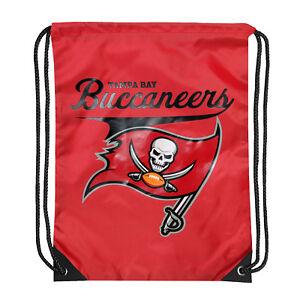 "NEW Tampa Bay Buccaneers Football Team Licensed Team Spirit Backsack 17.5"" x 13"""