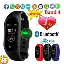 M4 Smart Watch Sports Wrist Band Heart Rate Fitness Waterproof Tracker HOT