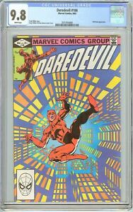 Daredevil #186 CGC 9.8 White Pages (1982) 2071954009