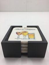 Stella Artois Beer Vintage Set of 4 Ceramic Coasters