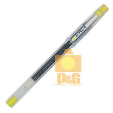 Pilot Hi-Tec-C 0.4mm needle tip Ball Point Pen Gel Pen / Yellow Made in Japan